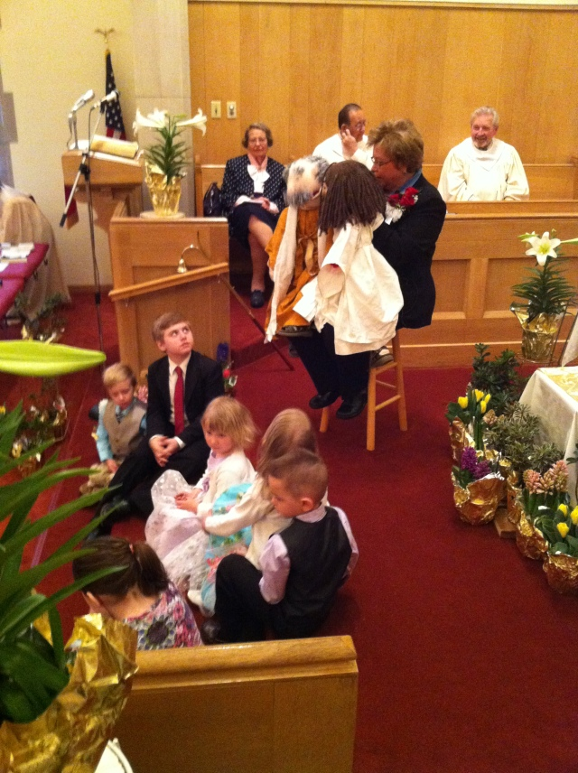 WACC Easter Puppets