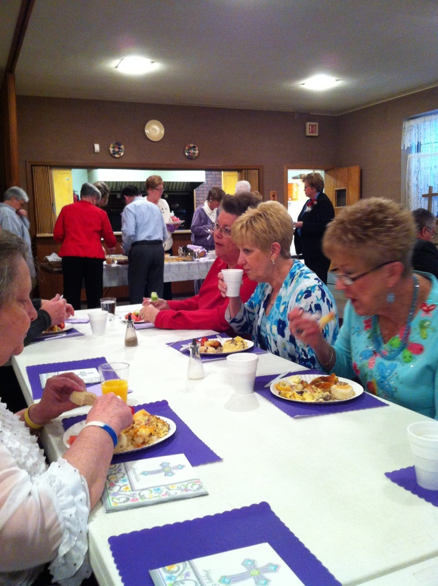 WACC Easter Sunrise breakfast 3