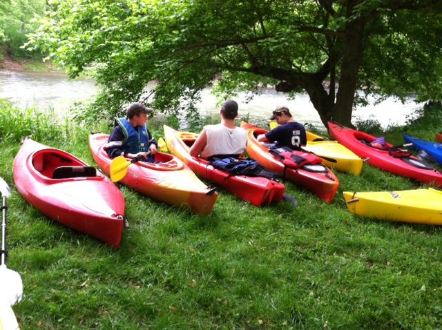 WACC Troop 98 kayak 1
