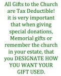 Designate gifts